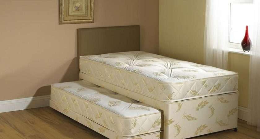 Windsor White Guest Bed Pull Out Trundle