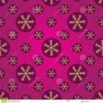 Winter Pink Purple Seamless Pattern Vector