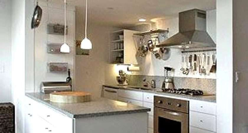 Wonderful Small Open Kitchen Design Plan
