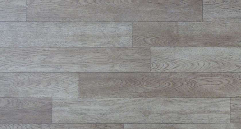 Wood Effect Lino Floor Pattern Photograph Shows