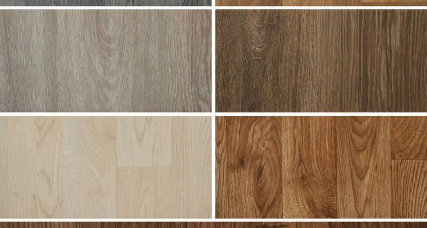 Wood Effect Vinyl Flooring Quality Luxury Lino