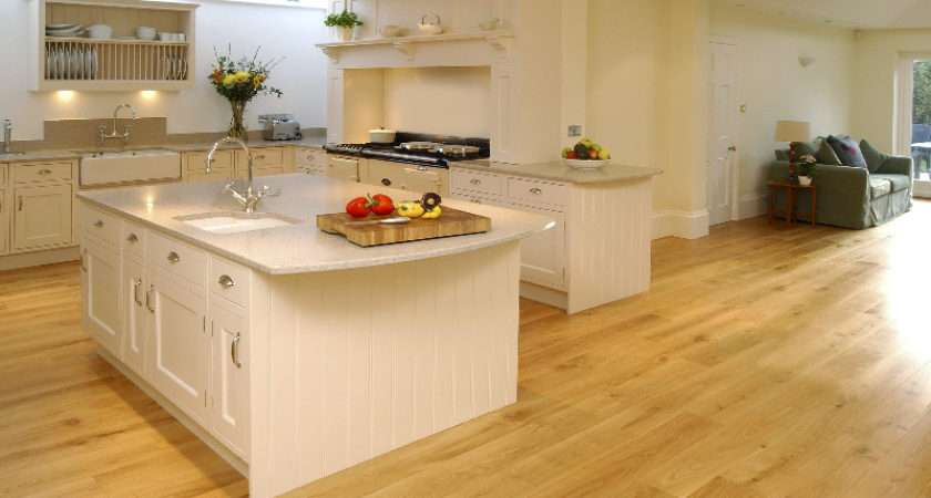 Wood Floor Company Flooring Have Been Installed Kitchens
