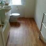 Wood Flooring Bathroom