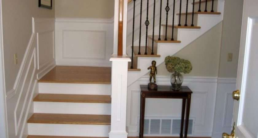Wood Staircase Small Space