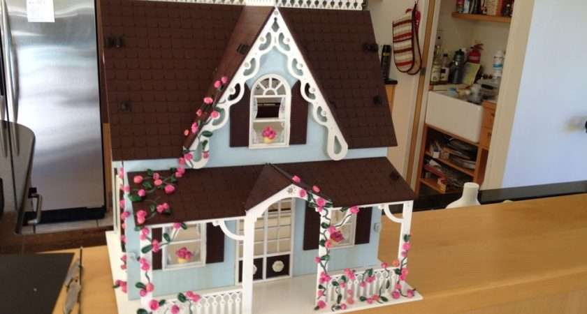 Wooden Plain Mdf Childrens Dolls House Craft Paint Decorate Toy Diy