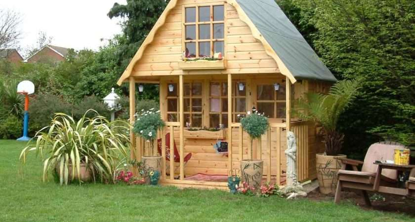 Wooden Playhouse Play House Wendyhouse Wendy Storey Swiss