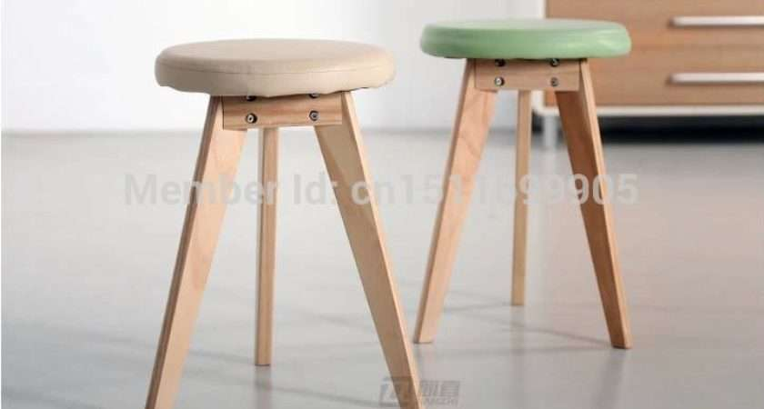 Wooden Stool Fashion Small Bench Special Simple Meal Low Ikea