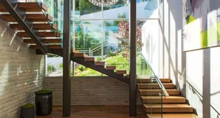 Wooden Types Stairs Modern Homes Architecture