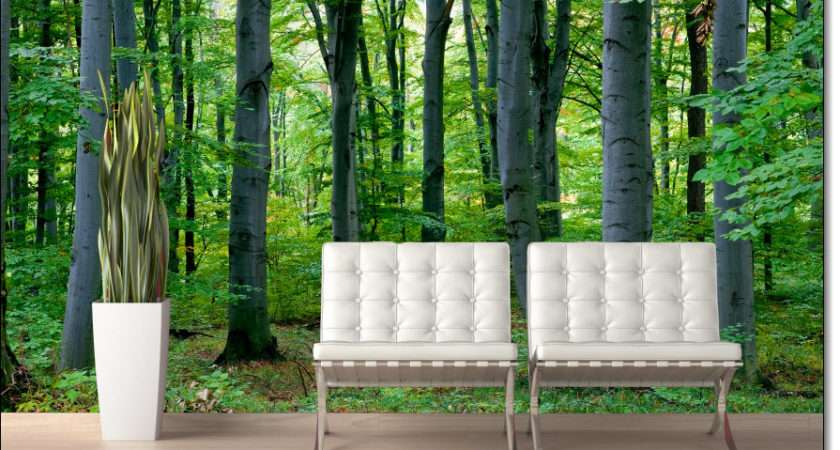 Woodland Forest Peel Stick Wall Mural