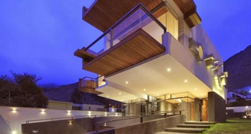 World Architecture Unusual Extreme Modern House