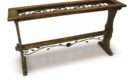 Wrought Iron Console Table Design Stylish
