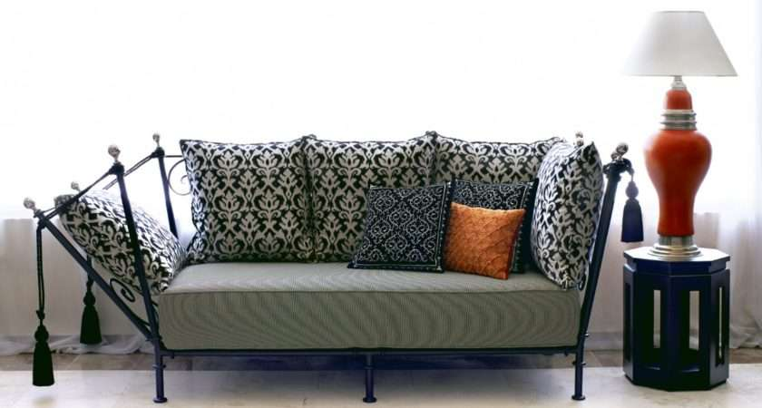Wrought Iron Sofas Chairs Double Chair Sofa