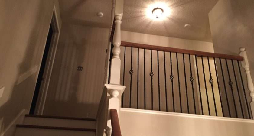 Wrought Iron Spindles Stairs Houston Much New House Price