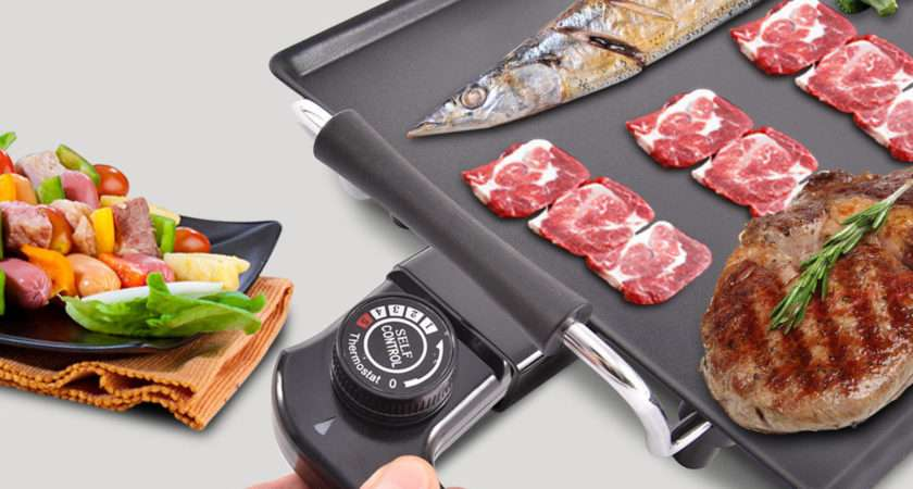 Xxl Electric Teppanyaki Table Top Grill Griddle