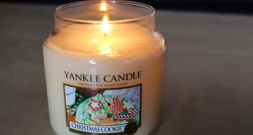 Yankee Christmas Cookie Candle Krystel Couture