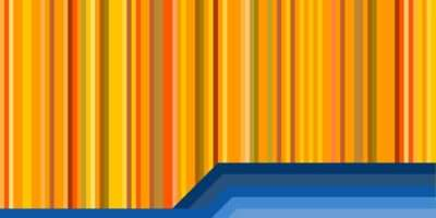 Yellow Blue Stripes Vector