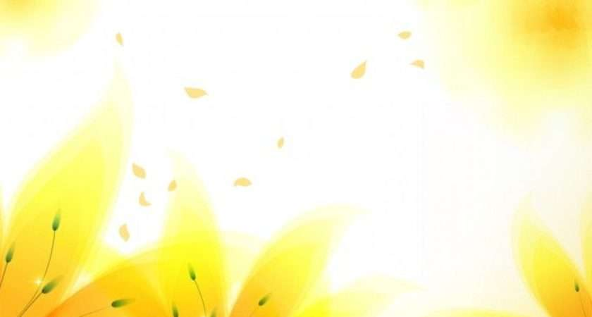 Yellow Flowers Powerpoint Templates Design