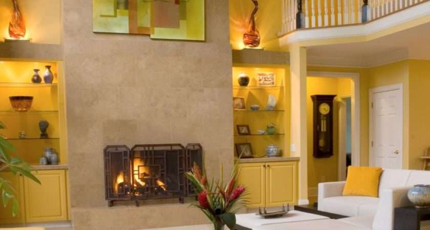 Yellow Living Room Designs Decorating Ideas Design