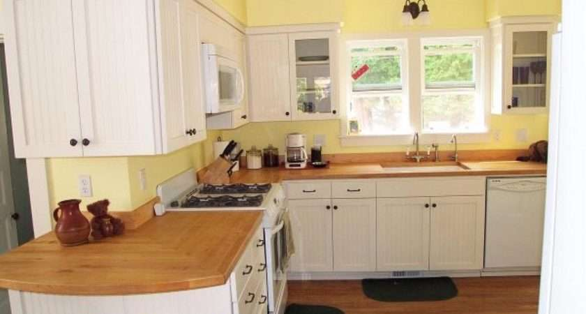 Yellow Paint Colors Kitchen Walls Intended White