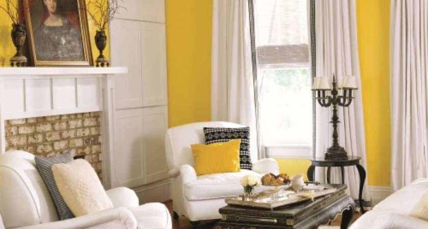 Yellow Rooms Home Design