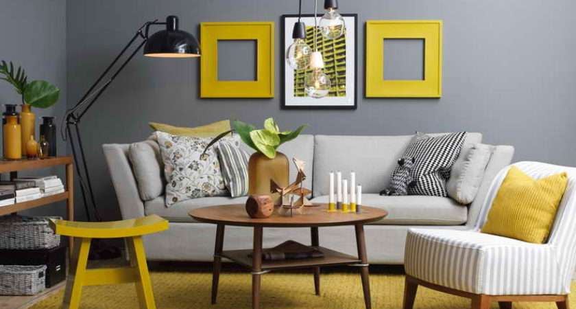Yellow Wall Pinterest Living Rooms