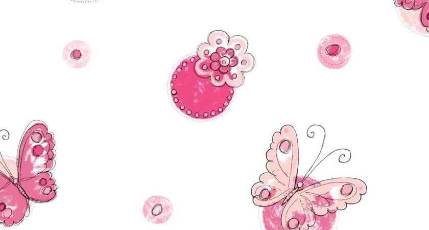 York Wallcoverings Cool Kids Butterfly Circle