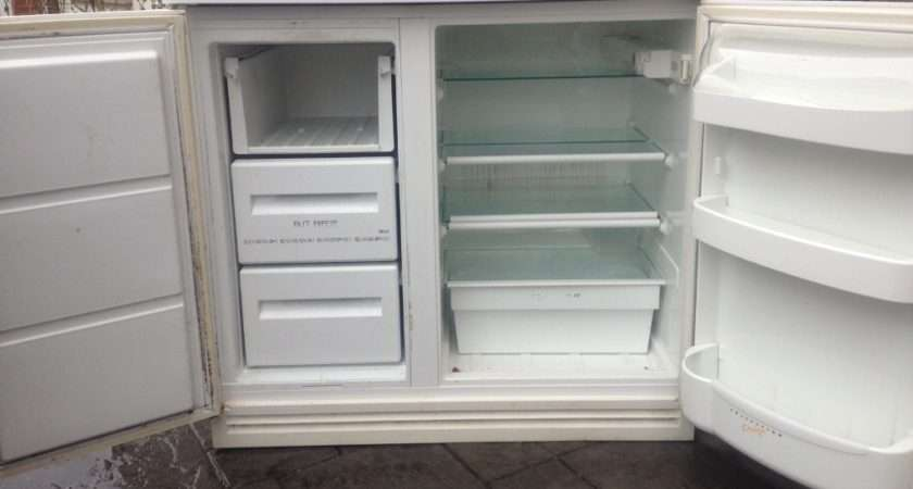 Zanussi Side Under Counter White Fridge Freezer Ebay