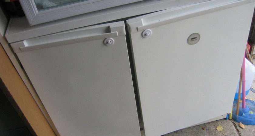 Zanussi Under Counter Fridge Half Side Freezer