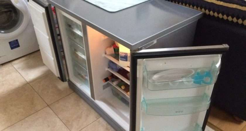 Zanussi Under Counter Side Fridge Freezer Sale