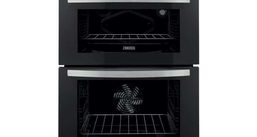 Zanussi Zod Built Electric Double Oven Stainless Steel