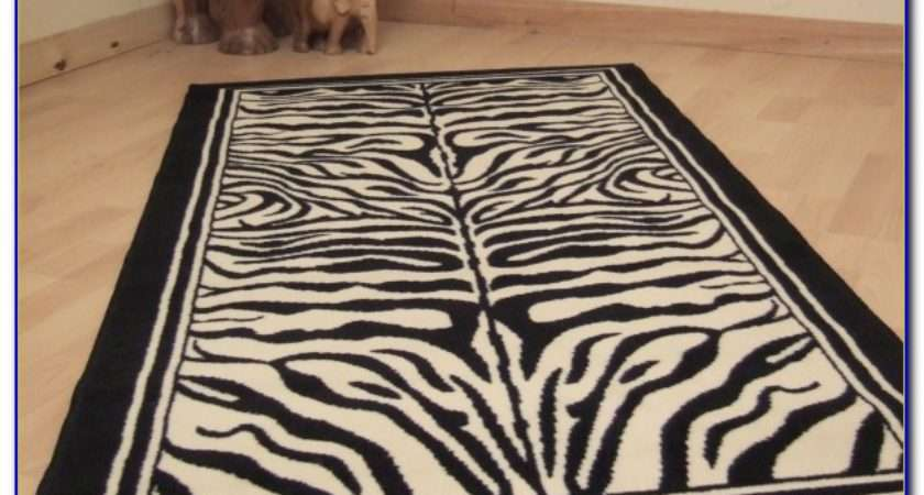 Zebra Print Rugs Home Design Ideas