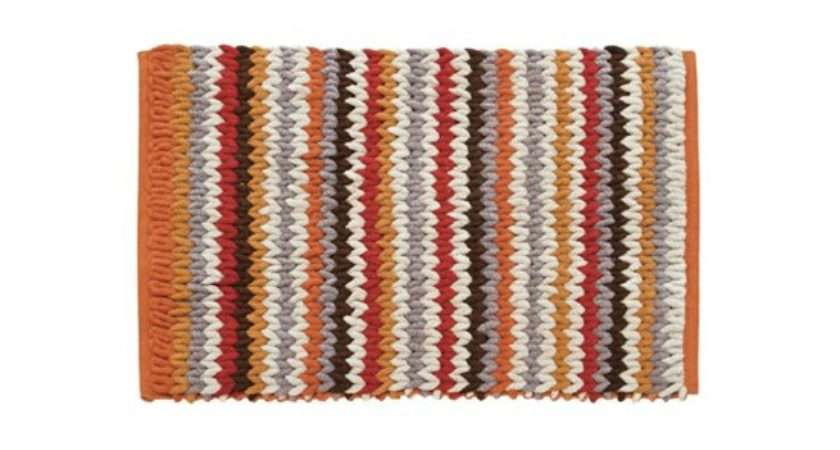 Zig Zag Bath Mat Next Colourful Bathroom
